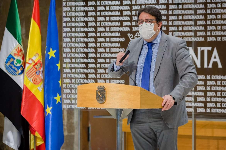 Extremadura recibirá en las próximas semanas más de 130.00 dosis de vacunas contra la Covid