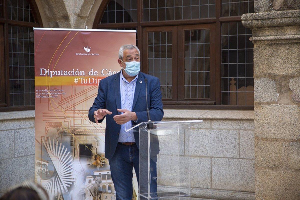 Carlos Carlos Rodríguez tomará posesión como nuevo presidente de la Diputación de Cáceres