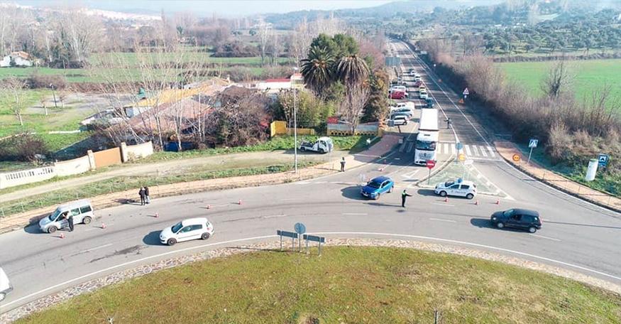 La Policía de Plasencia controlará las entradas y salidas de la ciudad