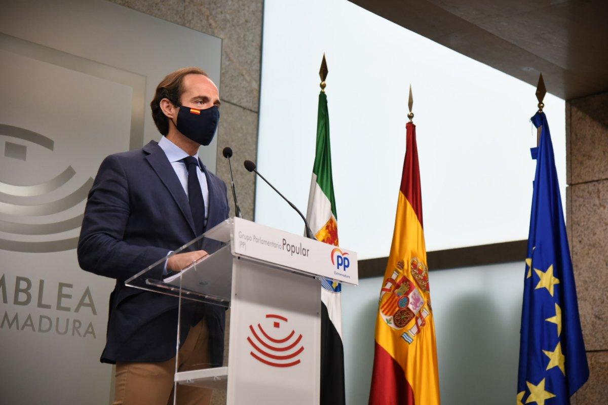 """El PP afirma que la región está en situación de """"alerta económica, laboral y sanitaria"""""""