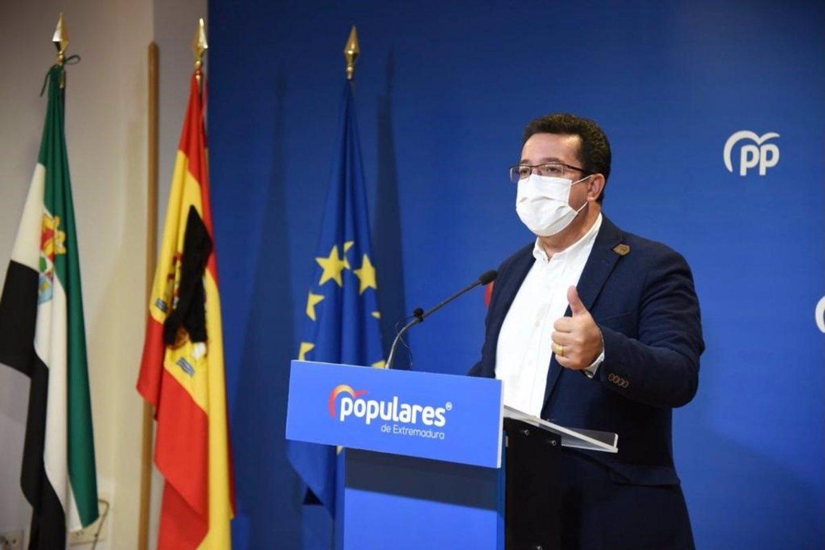 El PP pedirá convocar la Comisión del Pacto Antitransfuguismo por la moción en Jerez de los Caballeros