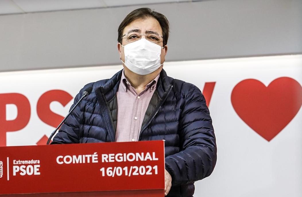 Fernández Vara volverá a presentarse como candidato a secretario general del PSOE