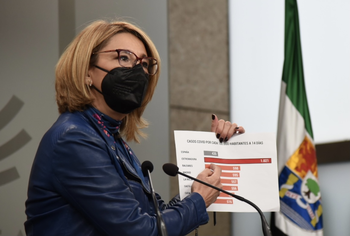 """El PP pide a Vara medidas ante los """"decretazos de cierre"""" en los municipios más poblados"""