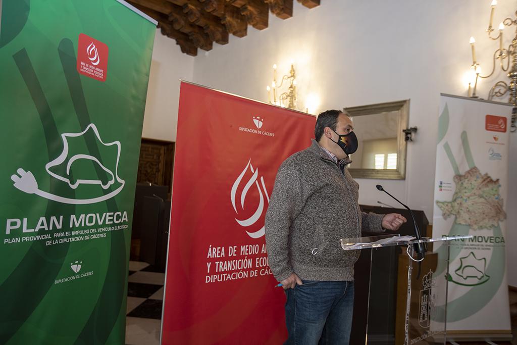 La provincia de Cáceres contará con 53 puntos de recarga para vehículos eléctricos