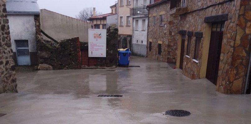 Concluyen las obras en la red de saneamiento de Piornal con una inversión de 70.215 euros