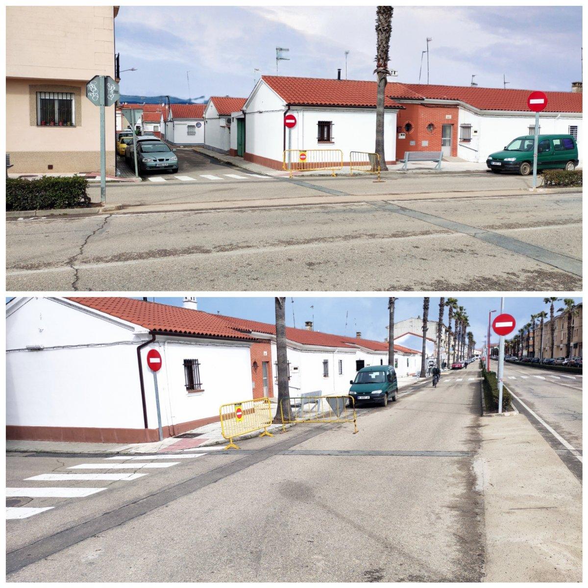 El Ayuntamiento de Moraleja reordena el tráfico en el barrio de Las Eras