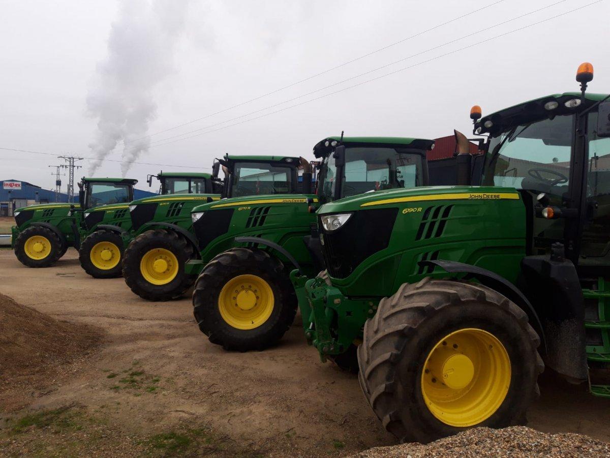 Maquinaria Galisteo, una de las empresas líderes, en venta de tractores nuevos y usados de marcas