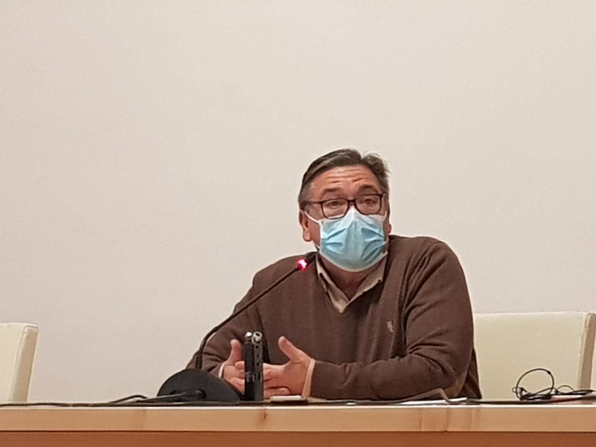 """José María Ramírez: """"El número de contagios está completamente descontrolado y es insostenible"""""""