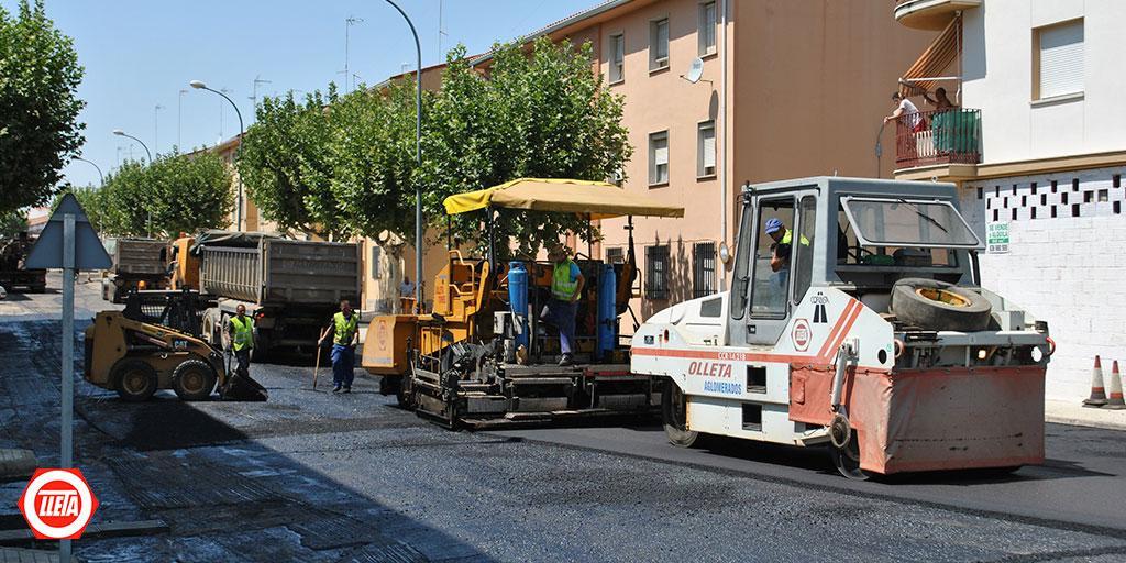 Mérida comienza a asfaltar 60 calles con una inversión de más de 435.000 euros