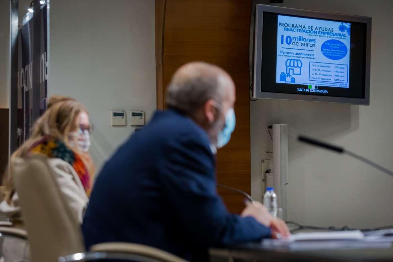 Diez millones de euros en ayudas para que pymes y autónomos hagan frente a la crisis
