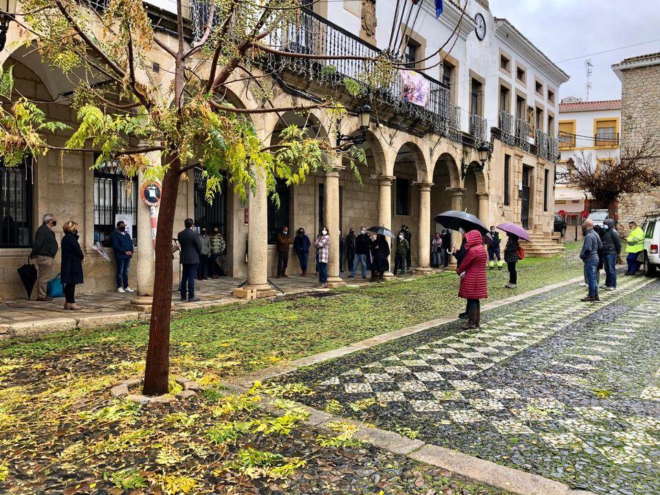 Cáceres suma dos fallecidos y los contagios no tienen freno en Miajadas y Valencia de Alcántara