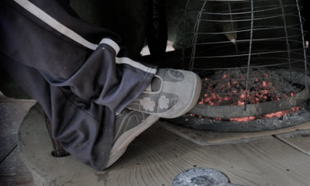 El 112 pide prudencia con los braseros ante la ola de frío que vive Extremadura