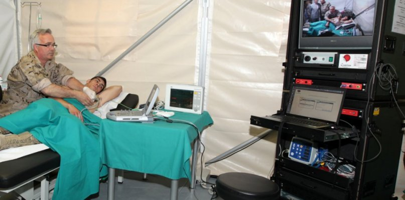 La presión hospitalaria obliga a instalar un hospital de campaña en Badajoz