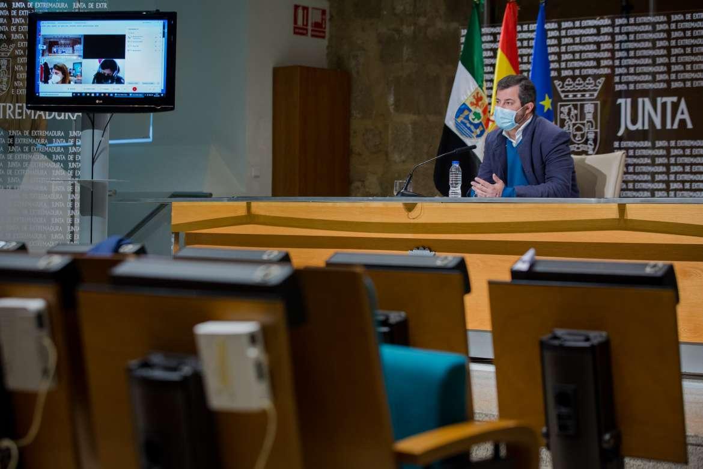 La crisis sanitaria golpea a Extremadura que tiene más de 112.600 personas paradas