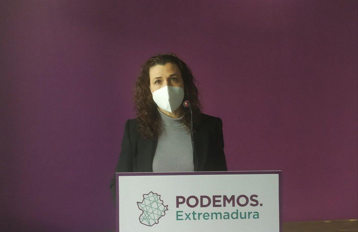 """Podemos cree que el Gobierno de Fernández Vara está dando muestras de """"agotamiento y fatiga"""""""