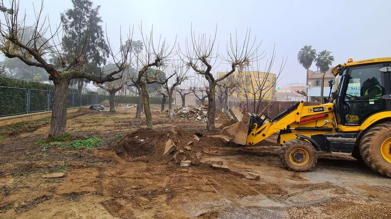 Mérida retoma la obra de la Plaza Margarita Xirgu con un presupuesto de más de 200.000 euros