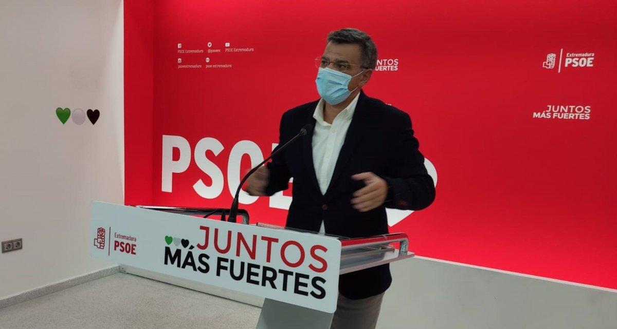 El PSOE de Extremadura apela a la responsabilidad de los ciudadanos para evitar una cuarta ola