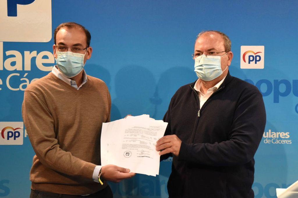 Monago anuncia 30 enmiendas a los PGEX que suman más de 12 millones de euros para Cáceres