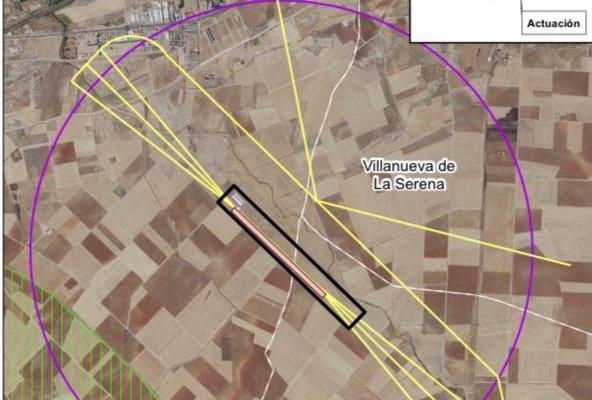 Evaluación Ambiental da luz verde a la construcción del aeródromo de Don Benito