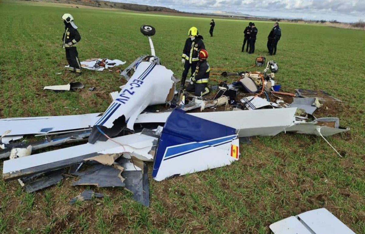Un vecino de Azuaga y su sobrina fallecen en un accidente de avioneta cerca de Toledo