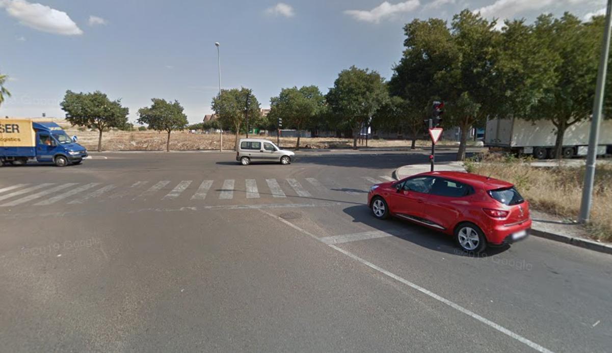 Herida una mujer de 78 años tras ser atropellada en Badajoz