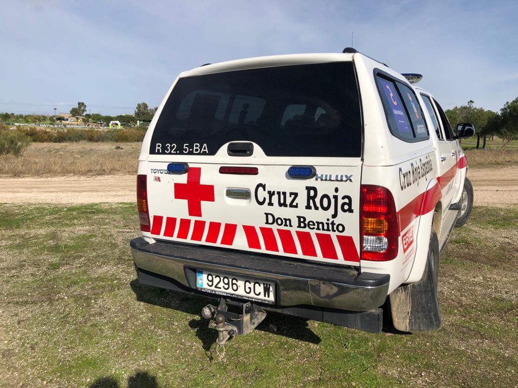 Trasladan en helicóptero al hospital en estado grave a un ciclista tras caerse de su bici en Don Benito