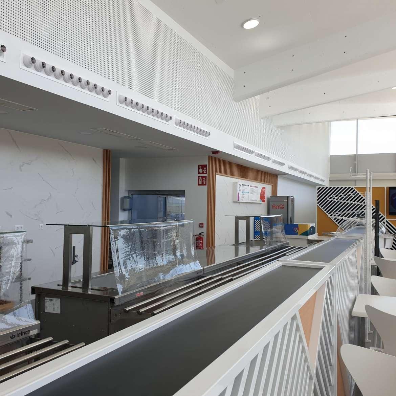 El Hospital Universitario de Cáceres ya tiene cafetería y se han invertido 1,2 millones de euros