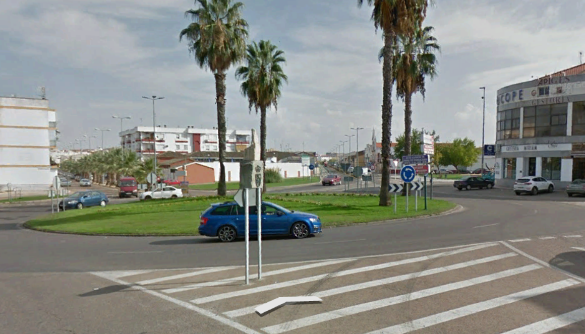 Herido grave un joven de 15 años en un accidente en el centro de Don Benito