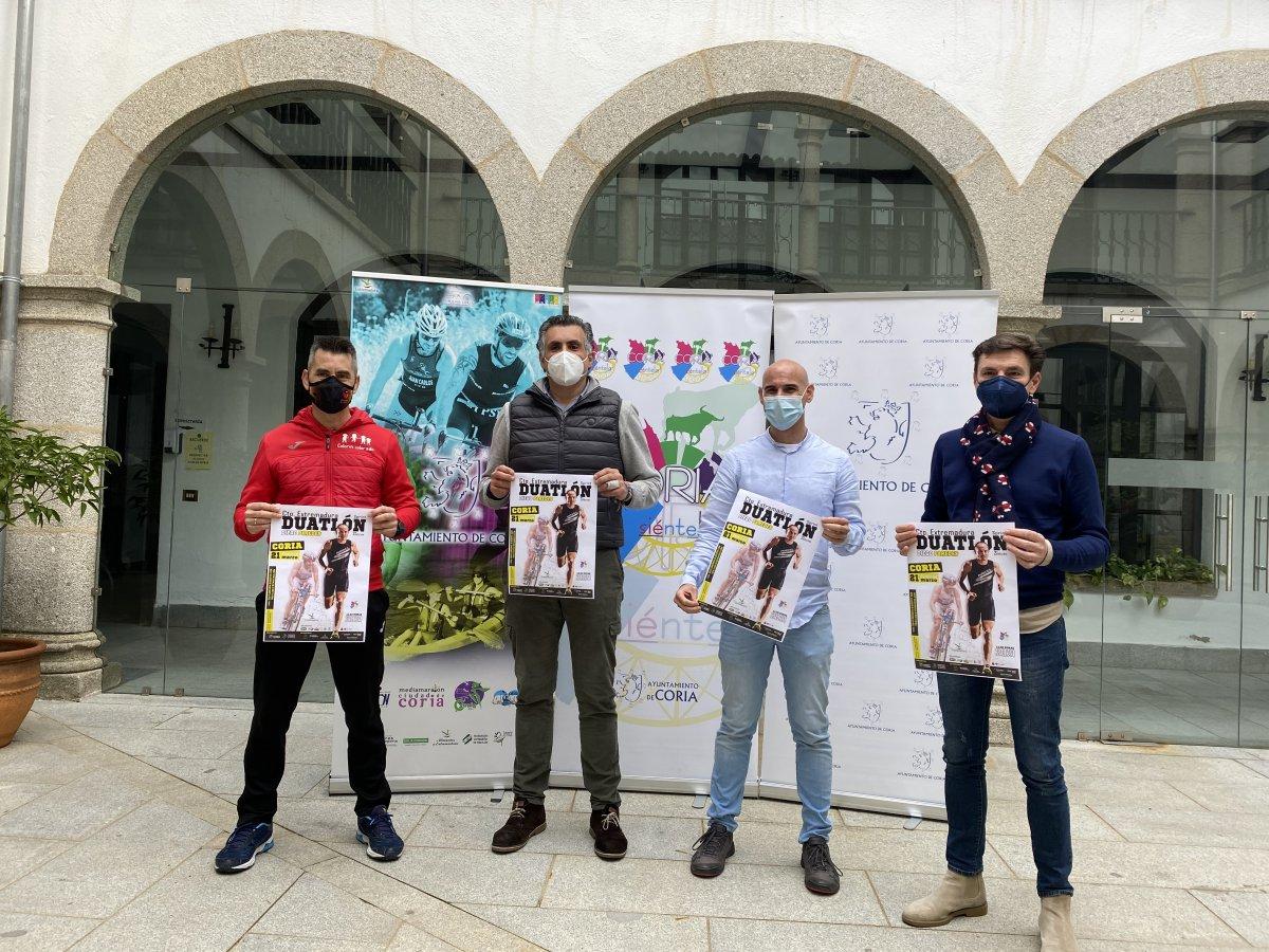 Coria celebrará el II Duatlón dedicado al triatleta  Diego Paredes el 21 de marzo