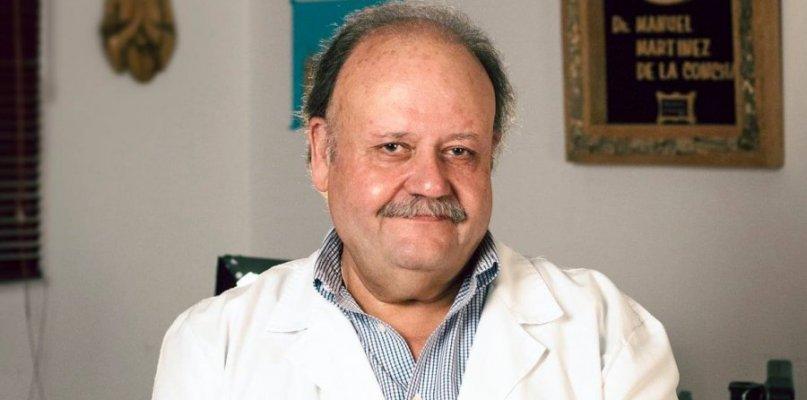 San Vicente despide a su médico Manuel Martínez de la Concha, fallecido tras 15 días en cuidados intensivos