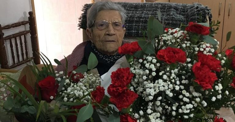 Moraleja rinde homenaje a su vecina Pilar Utrera tras cumplir 101 años
