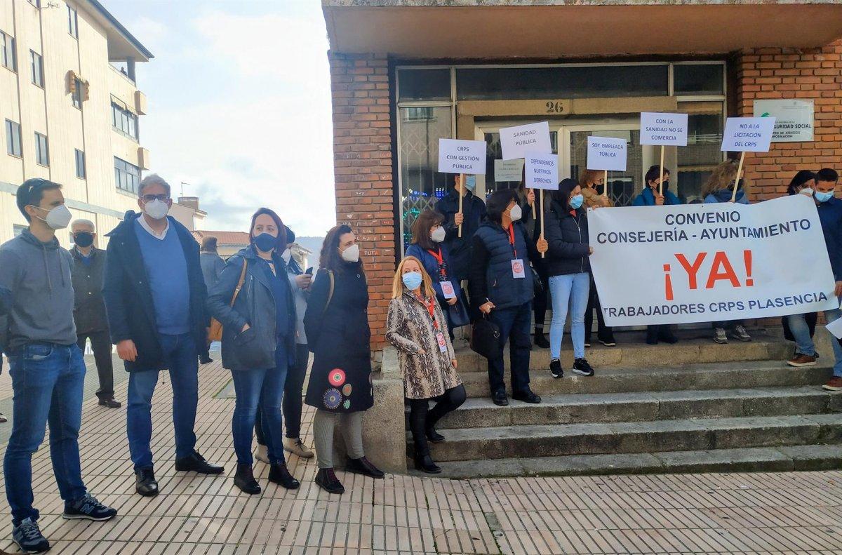 Podemos pide a la Junta que no privatice el centro de rehabilitación psicosocial de Plasencia