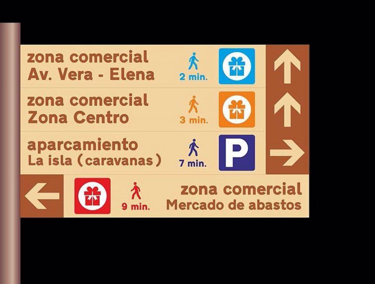Plasencia impulsa el comercio local con la señalización de siete zonas comerciales