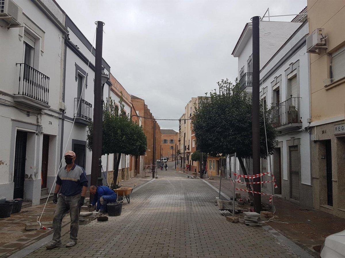Cs Mérida pide transparencia en las obras de entoldado de la calle José Ramón Mélida