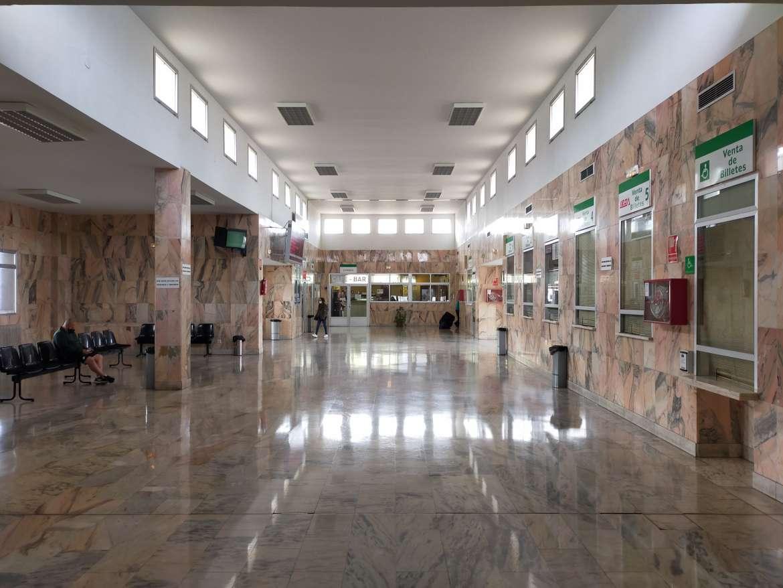 La Junta licita las obras para mejorar el estado de la estación de autobuses de Zafra