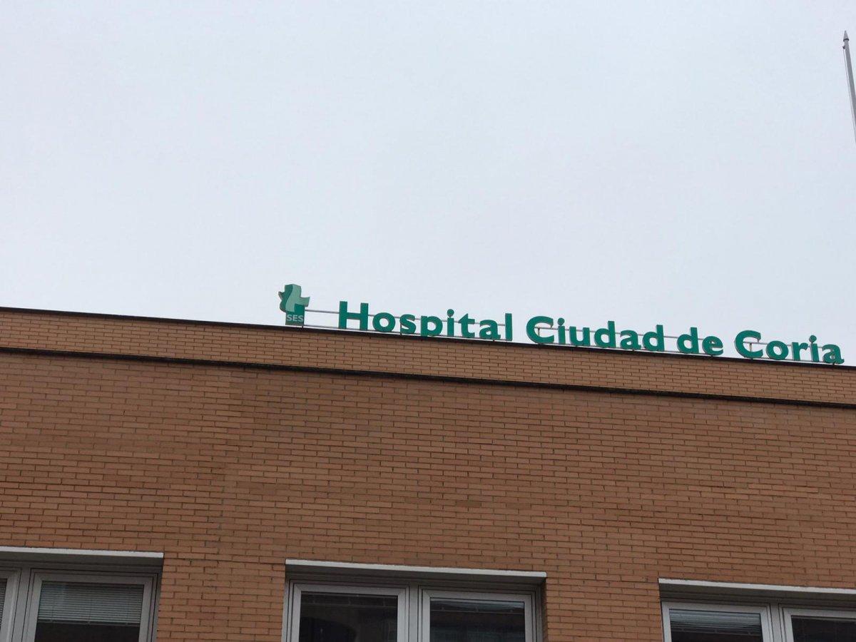 El SES confirma dos casos en El Batán y el Hospital de Coria tiene 6 positivos ingresados