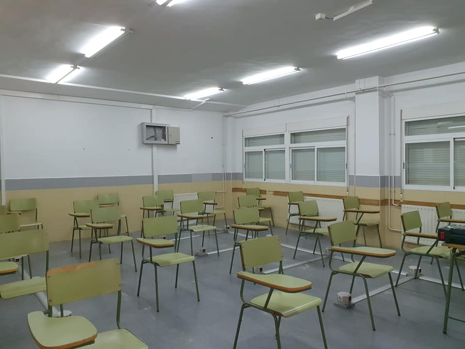 Educación cierra nueve clases por Covid, cuatro de ellas en el IES de Jaraíz de la Vera