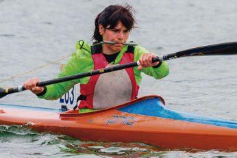 La piragüista oliventina Inés Felipe ya es deportista de alto rendimiento