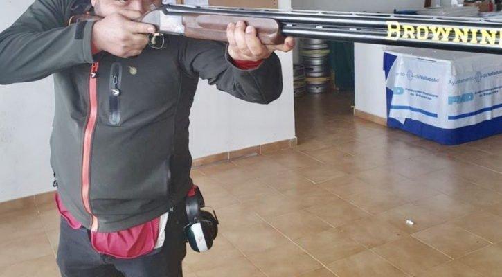 El laureado tirador olímpico, Chema Pinto, también entre los deportistas de alto rendimiento