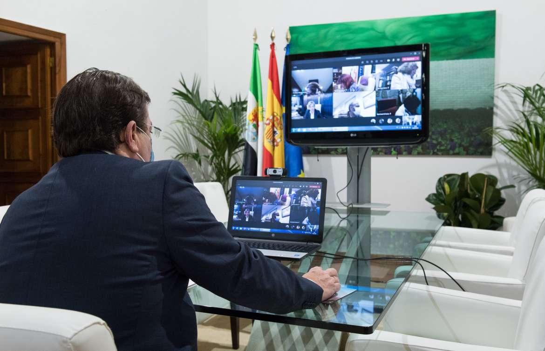 Extremadura destina 186.000 euros para la compra de material que ayude a frenar la crisis