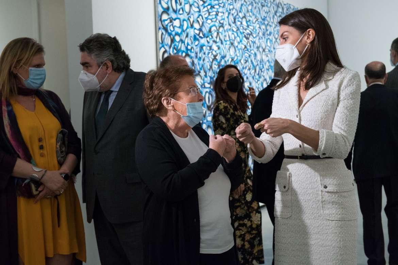 Los Reyes inauguran las nuevas instalaciones del Museo Helga de Alverar de Cáceres