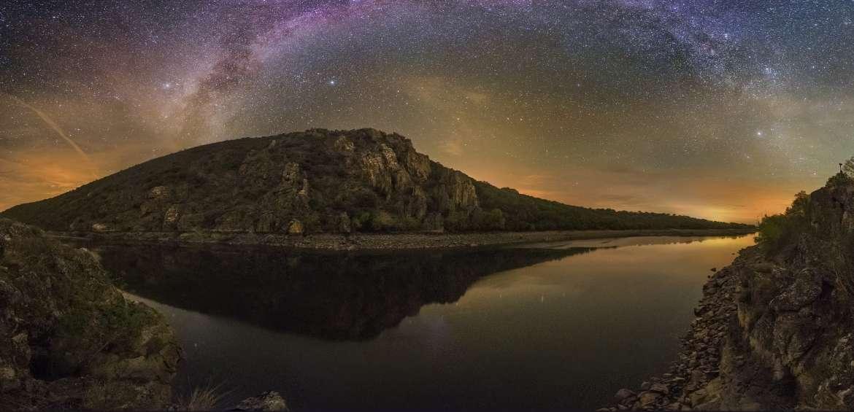 El Parque Nacional de Monfragüe revalida la certificación de destino Starlight de astroturismo