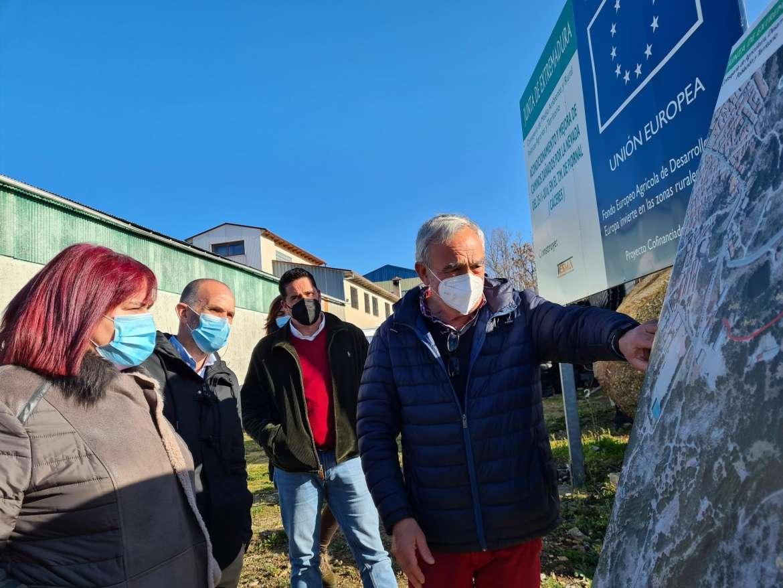 Una inversión de más de 6 millones de euros permite mejorar varios caminos públicos en el Valle del Jerte