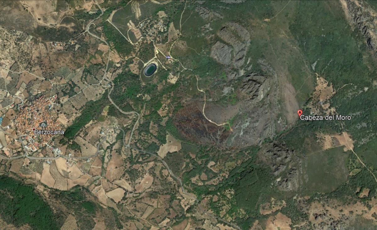 Condenado a un año y ocho meses de prisión por provocar un incendio en una zona protegida de las Villuercas