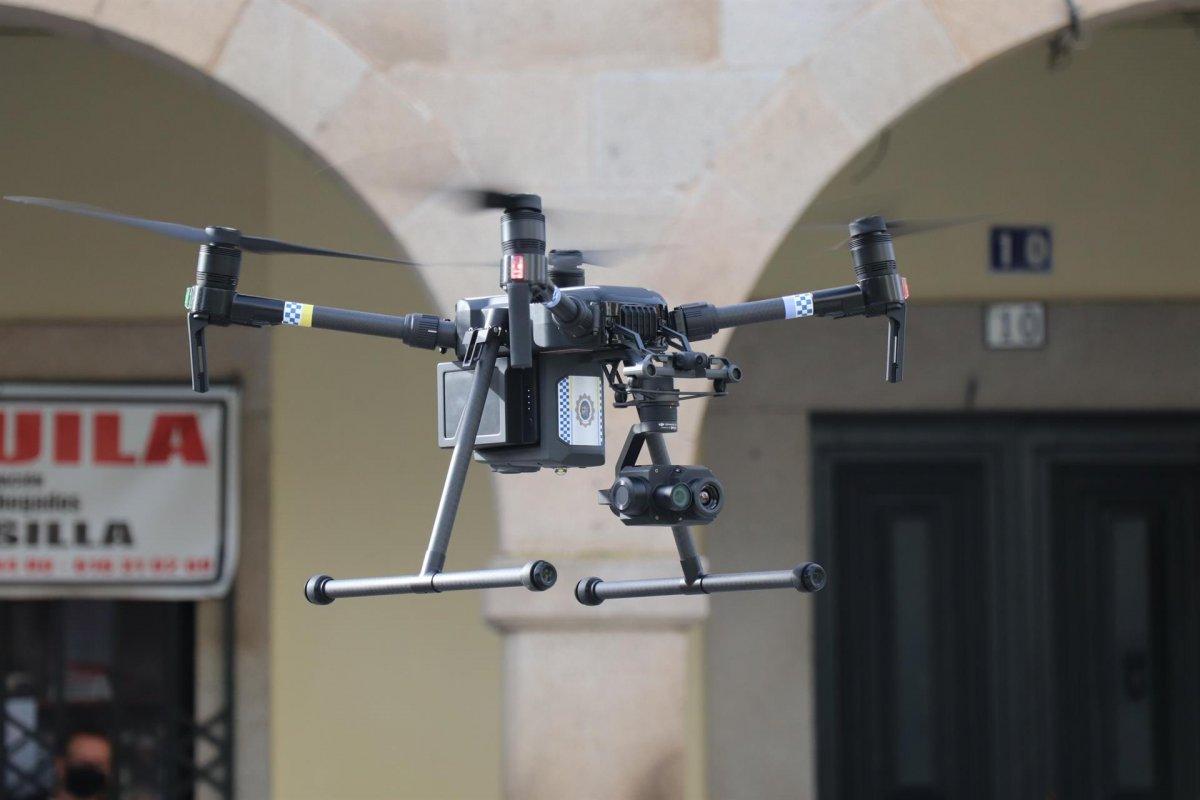 Villanueva de la Serena adquiere un dron para emergencias y prevención de delitos