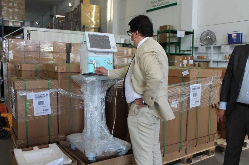 Un tercio de los ingresados por coronavirus en los hospitales de Extremadura se encuentra en la UCI
