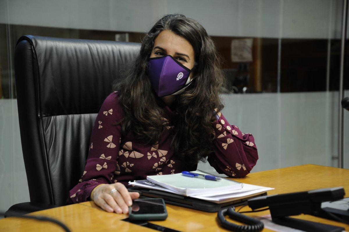 """Irene De Miguel: """"La Junta ha dado carta blanca a las empresas que deciden hacerse con nuestros minerales"""""""