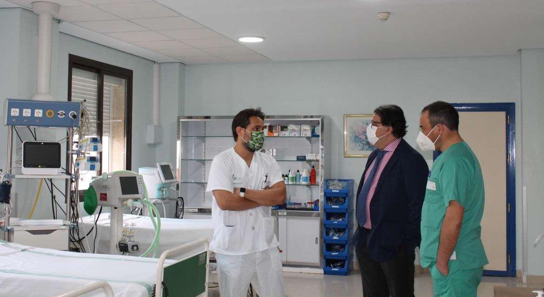 Extremadura registra 37 contagiados de Covid más y 5 hospitalizados menos que el día anterior