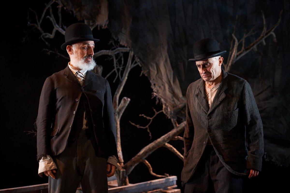 La obra 'Esperando a Godot' llega a Badajoz protagonizada por Pepe Viyuela y Alberto Jiménez