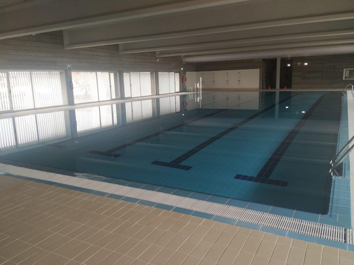 El consistorio de Moraleja prevé que la piscina climatizada esté disponible a final de mes